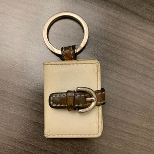 Vintage Coach Picture Frame Keychain